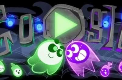 Google представил забавную дудл-игру к Хэллоуину