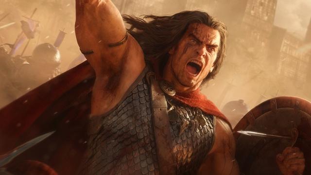 RTS-выживание в кооперативе — 19 минут геймплея Conan Unconquered