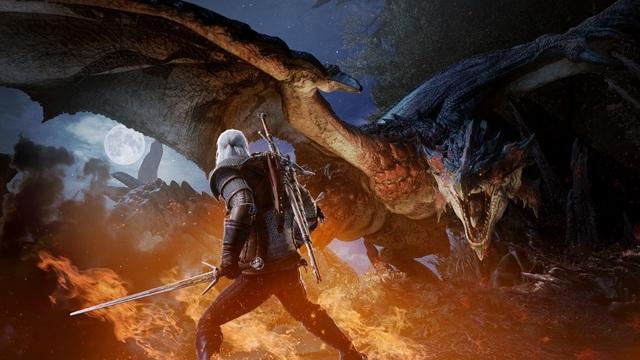 Геральт из Ривии появится в PC-версии Monster Hunter: World 9 мая