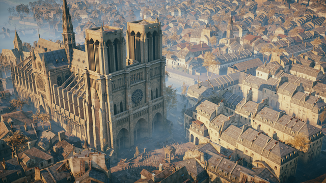 Ubisoft жертвует 500 тысяч евро на восстановление Нотр-Дама и раздаёт Assassin's Creed: Unity