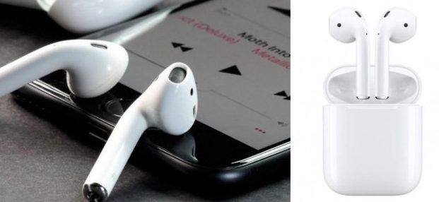 Оригинальные наушники Apple AirPods в Беларуси